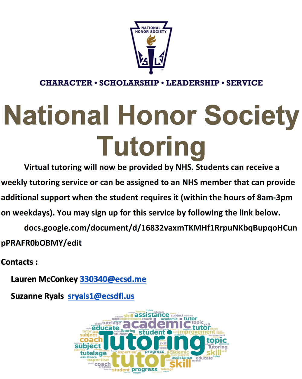 NHS Tutoring